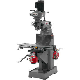 Jet 690211 JVM-836-1 Milling Machine W/X & Y-Axis Powerfeeds, 1-1/2 HP