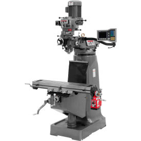 Jet 690286 JTM-2 Milling Machine W/Acu-Rite Vue DRO & X-AXIS Powerfeed, 2 HP