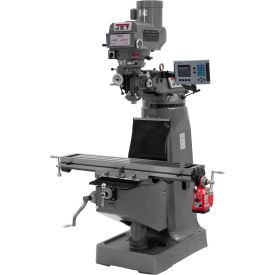 Jet 690408 JTM-4VS Milling Machine W/3-Axis Acu-Rite Vue DRO Knee & X-Axis Powerfeed, 3 HP