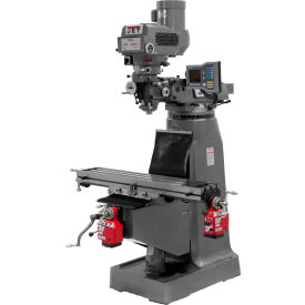 Jet 690411 JTM-4VS-1 Milling Machine W/3-Axis Acu-Rite Vue DRO Knee & X-Axis Powerfeeds, 2 HP