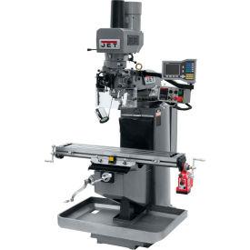 JET JTM-949EVS Mill - Acu-Rite Vue DRO - X-Axis Powerfeed - Air Powered Drawbar - 690633