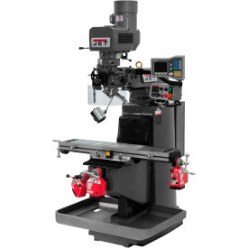 JET JTM-949EVS Mill - Acu-Rite Vue DRO - X, Y and Z-Axis Powerfeeds - 690512