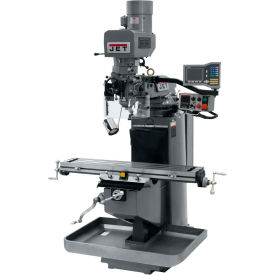 JET JTM-949EVS Mill - 3-Axis Acu-Rite Vue DRO (Knee) - X-Axis Powerfeed - 690532