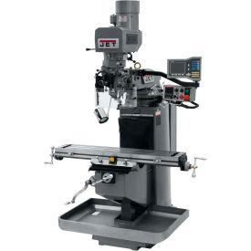 JET JTM-949EVS Mill - 3-Axis Acu-Rite Vue DRO (Knee) - X-Axis Powerfeed - 690532