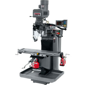 JET JTM-949EVS Mill - 3-Axis Acu-Rite Vue DRO (Knee) - X and Y-Axis Powerfeeds - 690613