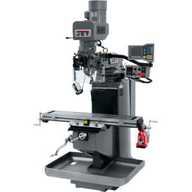 JET JTM-949EVS Mill - 3-Axis Acu-Rite Vue DRO (Quill) - X-Axis Powerfeed - 690549