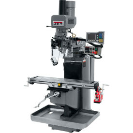 JET JTM-949EVS Mill - 3-Axis Acu-Rite Vue DRO (Quill) - X-Axis Powerfeed - Air Powered Drawbar