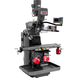 JET JTM-949EVS Mill - 3-Axis Acu-Rite Vue DRO (Quill) - X, Y and Z-Axis Powerfeeds - 698161