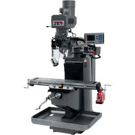 JET JTM-949EVS Mill - 3-Axis Acu-Rite 200S DRO (Knee) - X-Axis Powerfeed - 690519