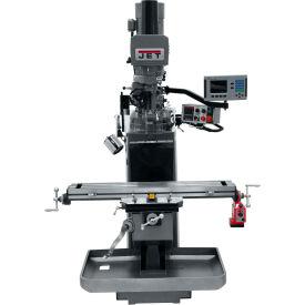 JET JTM-949EVS Mill - 3-Axis Acu-Rite 200S DRO (Knee) - X-Axis Powerfeed - Air Powered Drawbar