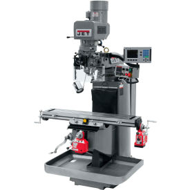JET JTM-949EVS Mill - 3-Axis Acu-Rite 200S DRO (Knee) - X and Y-Axis Powerfeeds - 690685