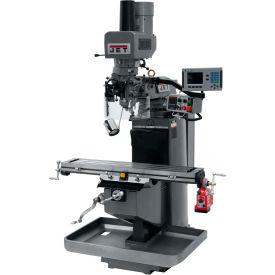 JET JTM-949EVS Mill - 3-Axis Acu-Rite 200S DRO (Quill) - X-Axis Powerfeed - Air Powered Drawbar