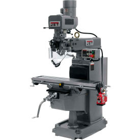 JET JTM-1050EVS2/230 Mill - X-Axis Powerfeed - Air Powered Drawbar - 691500