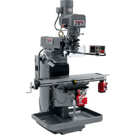 JET JTM-1050EVS2/230 Mill - X and Y-Axis Powerfeeds - 690636
