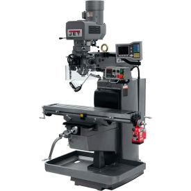 JET JTM-1050EVS2/230 Mill - 3-Axis Acu-Rite Vue DRO (Knee) - X-Axis Powerfeed - 690631