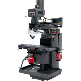 JET JTM-1050EVS2/230 Mill - 3-Axis Acu-Rite Vue DRO (Knee) - X and Y-Axis Powerfeeds - 690518