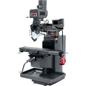 JET JTM-1050EVS2/230 Mill - 3-Axis Acu-Rite Vue DRO (Quill) - X-Axis Powerfeed - 698153