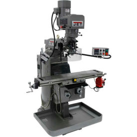 JET JTM-1050EVS2/230 Mill - Acu-Rite 200S DRO - X-Axis Powerfeed - 698160