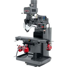JET JTM-1050EVS2/230 Mill - Acu-Rite 200S DRO - X, Y and Z-Axis Powerfeeds - 690607