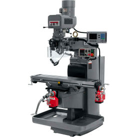 JET JTM-1050EVS2/230 Mill - 3-Axis Acu-Rite 200S DRO (Knee) - X and Y-Axis Powerfeeds - 690611