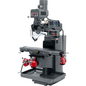 JET JTM-1050EVS2/230 Mill - 3-Axis Acu-Rite 200S DRO (Quill) - X, Y and Z-Axis Powerfeeds - 690617