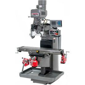 JET JTM-1050EVS2/230 Mill - Acu-Rite 200S DRO - X, Y and Z-Axis Powerfeeds - Air Powered Drawbar