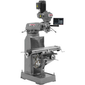 JVM-836-3 Mill, C80 3-AXIS Q-DRO & X-PWF
