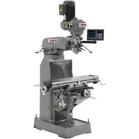 JVM-836-3 Mill, C80 3-AXIS Q-DRO & X&Y-PWF