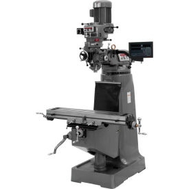 JTM-1 Mill, NEWALL DRO C80 3-axis Quill