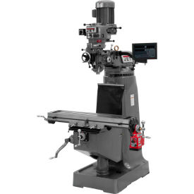 JTM-1 Mill, NEWALL DRO C80 3-axis Quill, X Powerfeed