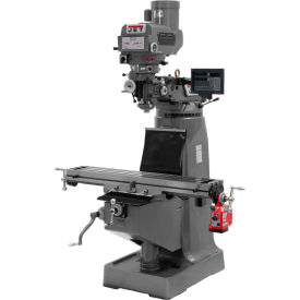 Jet 691202 JTM-4VS Milling Machine W/3-Axis Newall DP700 DRO Quill, 3 HP