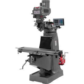 JET JTM-4VS-1 Mill - 3-Axis Acu-Rite 200S DRO (Knee) - X-Axis Powerfeed - 698165