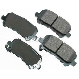 Akebono® Pro-ACT Series Ultra Premium Ceramic Disc Brake Pads - ACT1281