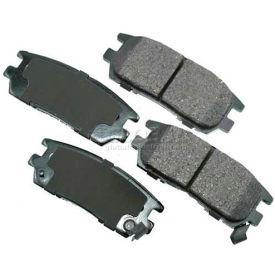 Akebono® Pro-ACT Series Ultra Premium Ceramic Disc Brake Pads - ACT567