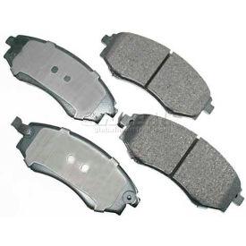 Akebono® Pro-ACT Series Ultra Premium Ceramic Disc Brake Pads - ACT700