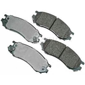 Akebono® Pro-ACT Series Ultra Premium Ceramic Disc Brake Pads - ACT728