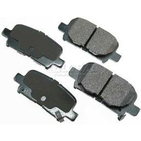 Akebono® Pro-ACT Series Ultra Premium Ceramic Disc Brake Pads - ACT865