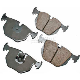 Brake Systems Brake Pads Akebono 174 Euro Series Ultra