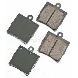 Akebono® Euro Series Ultra Premium Ceramic Disc Brake Pads - EUR779