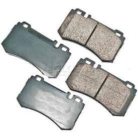 Akebono® Euro Series Ultra Premium Ceramic Disc Brake Pads - EUR984