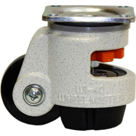 WMI® Leveling Caster WGD-40F - 60 Lb. Capacity - Plate Mounted