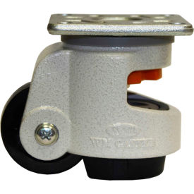 WMI® Leveling Caster WGD-80F - 600 Lb. Capacity - Plate Mounted