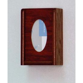 1 Pocket Glove/Tissue Box Holder - Light Oak