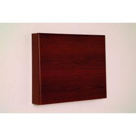 Fold-Away Wall Desk - Mahogany