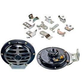 Wolo 370-Lc12l2 Industrial Series 370 Disc Horn, 12 Volt, 345 Hz - Min Qty 2