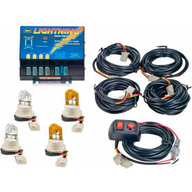 WOLO Lightning Strobe Kit, 4 Outlet - 8004-2CCAA