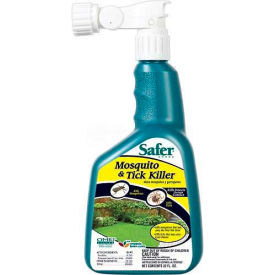 Safer® Brand Mosquito/Tick Killer, 32 oz. Hose End Sprayer - 5108