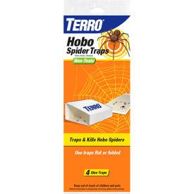 TERRO Hobo Spider Glue Board Traps, 4-Pack - T293