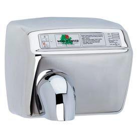 World Dryer Automatic Hand Dryer - 208/230V, Bright SS - DXA54-972