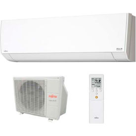 Fujitsu General Halcyon 9RLFW1 Ductless Split AC w/ Heat Pump, 9,000 BTU, 23 SEER, 208/230V